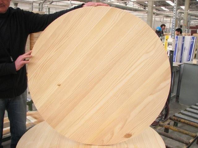 Unfinished Pine Round 30 For Table Top or Sign