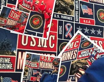 Marines Fleece Blanket