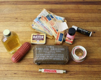 Vintage Army First Aid kit