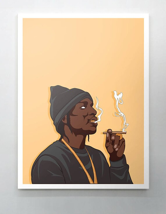 Asap Rocky Canvas / wall art / wall decor / rap canvas / hip