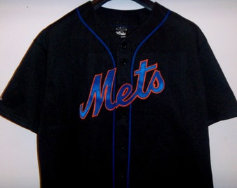 Mike Piazza Jersey New York Mets MLB Majestic Shirts&Top Tees 2XL Made in USA
