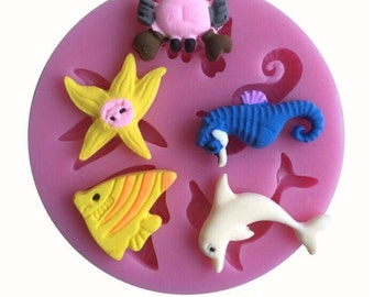 Sea creatures mold