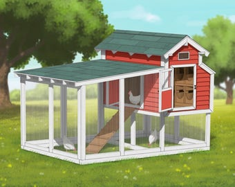 Chicken Coop Plans - Poultry Palace