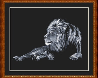 Leon, Cross Stitch Pattern in PDF for Instant Download