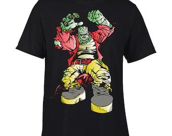 Halloween Tee Shirts Frankenstein