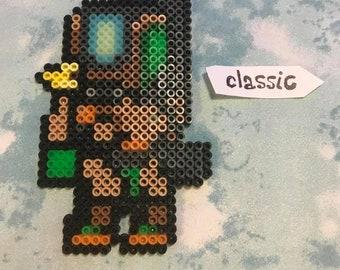 Bastion Perler Overwatch Bead Pixel Art
