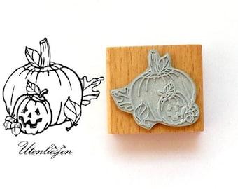 Stamp halloween pumpkin, 4 cm