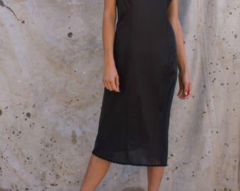 Black Night Gown MEDIUM