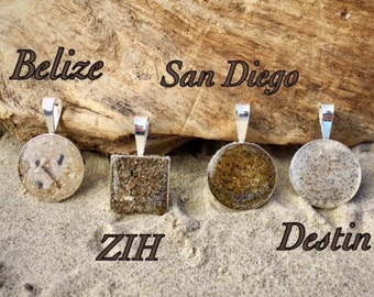 Sand Pendant