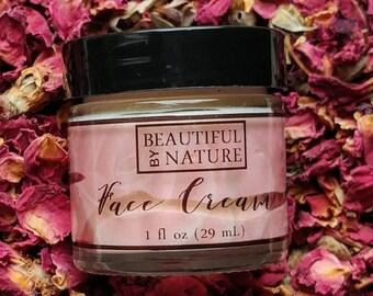 Face Cream - Homemade - Facial Moisturizing Cream - Wrinkle Cream- Day Cream - Night Cream - Hydrating Face Food For Dry Skin