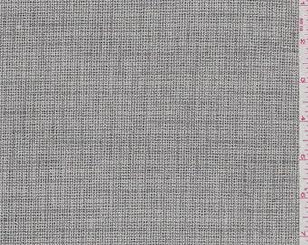 Ecru/Black Suiting, Fabric By The Yard