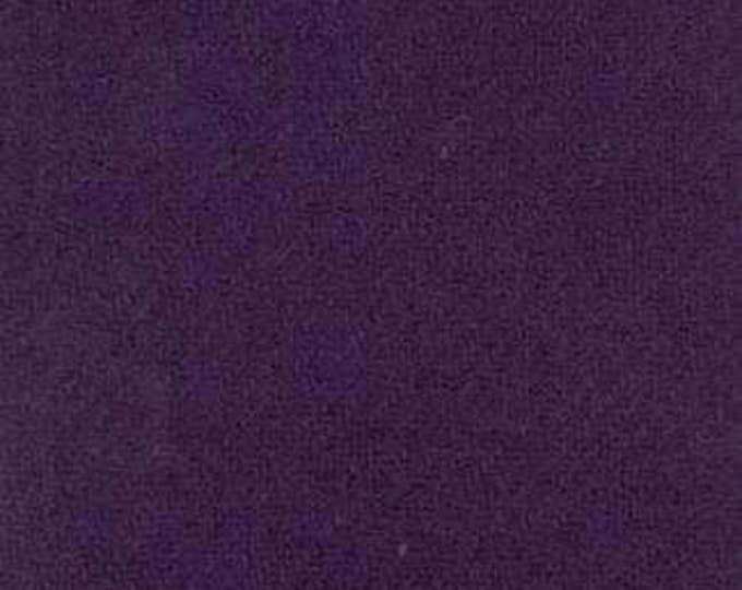 Moda 100% Wool Purple 5481047 - 1/2 yd x 54 inches