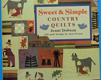 Sweet and Simple Country Quilts Pattern Book