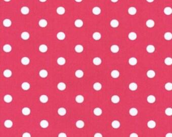 BT-2582-2 Red by Robert Kaufman Pimatex Basics - Red Polka Dot