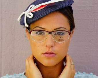 Vintage Neo-Vision Eyeglass 1990s New Old Stock Glasses Brown And Clear Frames Made In Italy