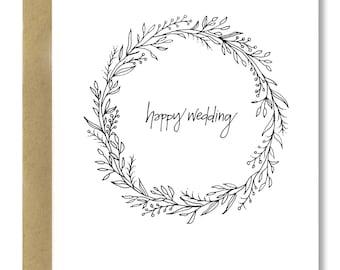 Wedding Wreath - A2 Card (Single or Set of 5)