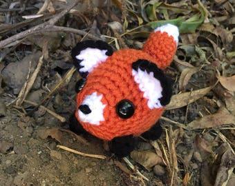 Crochet Fox amigurumi plush