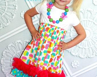 Tiana's Petti Party Dress PDF Pattern size size 18 months to size 6