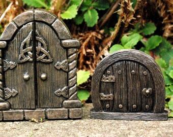 Fairy Doors - Bronze Grand Door -  Indoor or Out