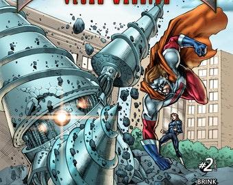 Earthling Vegan Warrior #2 (European Cover)