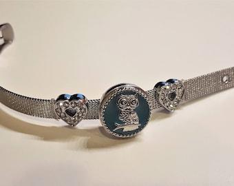 Snap Bracelet, Snap Jewelry, Interchangeable bracelet, Bracelet