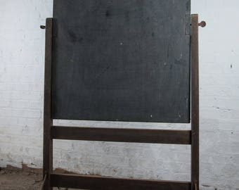 School Blackboard , Vintage, 19th Century (1800s)