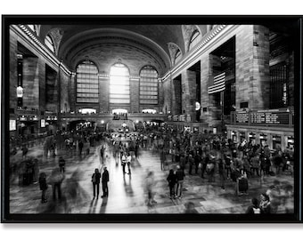 Collector Grand Central Terminal, New-York City, tirage Fine Art contrecollé sur Alu-Dibond et monté en caisse américaine