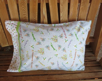 Pillowcase - Young Women Themed Pillowcase / Missionary Gift/ LDS Gift - Using Out Of Print Fabric - Made With Out Of Print Fabric
