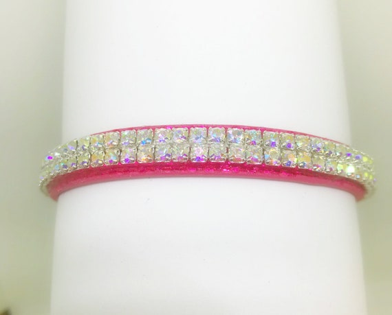 Sugarlicious Pets™  Heavenly Aurora Glow~ Crystal Rhinestone Dog Pet or Cat Safety Collar with Initial Charm  + Optional Leash USA!