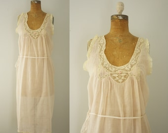 1920s nightgown | vintage 20s lingerie