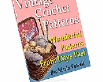Vintage Crochet Patterns eBook/PDF file