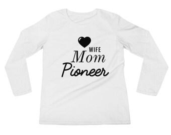 Mom Shirt, JW mom gift, Wife Mom Pionner, Jw pioneer mom gift, best life ever gift, Jw gift, Jw org, Jw stuff