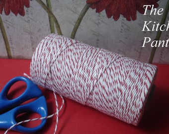 Baker's Twine - 30 Yards -  Red - Divine Twine Baker's Twine