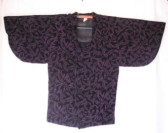 On Sale 10%off,Vintage  winter kimono coat
