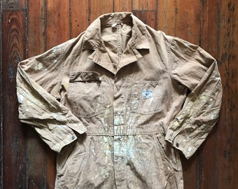 1950's Medium HBT Coveralls by Can't Bust Em