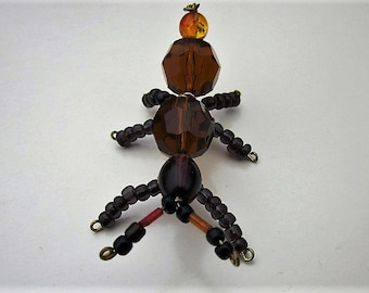 Beaded Ant ,Brown,Black.
