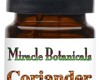 Miracle Botanicals Coriander Essential Oil - CO2 Extracted - 100% Pure Coriandrum Sativum