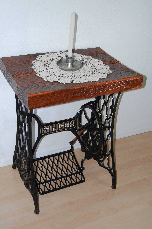 vintage antique 1898 singer treadle sewing machine base end. Black Bedroom Furniture Sets. Home Design Ideas