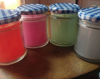 Candles- Handmade- Pick your colour and fragrance