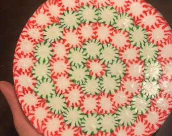 Candy mint serving tray