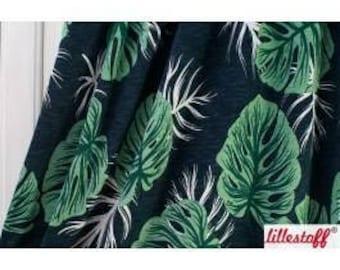 Monstera - Lillestoff - Organic Cotton Slub Jersey