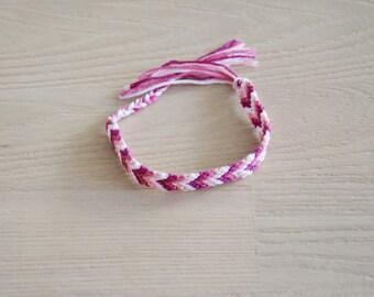 Friendship Bracelet, friendship bracelet, woven, chevron