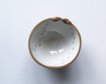 brown pottery bowls, earthy, natural ceramics, serving bowls, gift bowl set, bird bowls, modern pottery, ceramics and pottery, ceramic bowls