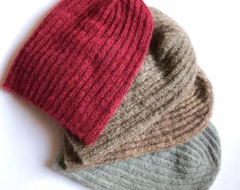 Mohair  knit hats