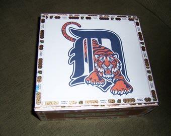 Tigers Cigar Box Baseball Stadium