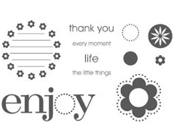 Stampin Up Enjoy Every Moment set of 11