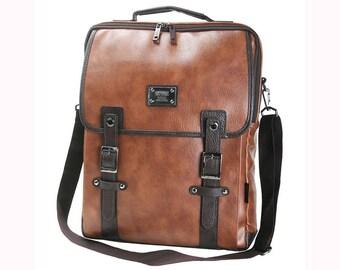 3 Way Bag Mens Laptop Backpack College School Bag Shoulder Bag 591