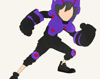 Disney Big Hero 6 BH6 character Hiro Hamada superhero hero suit supersuit