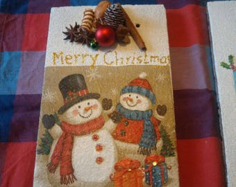 Merry Christmas Decoration tile