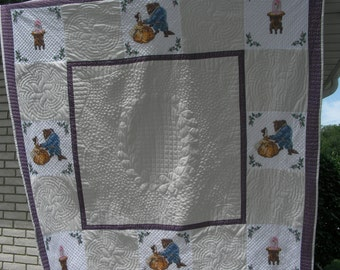 Beauty and The Beast Quilt